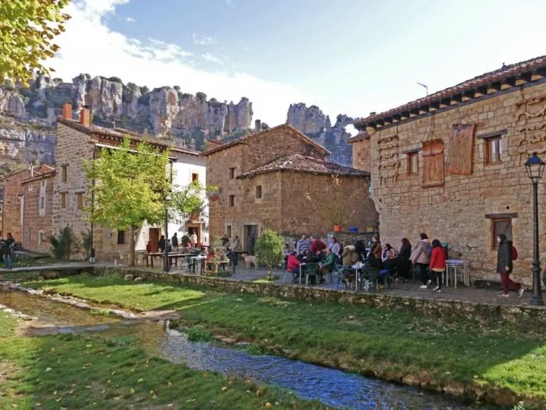 visiter burgos en famille espagne orbaneja del castillo
