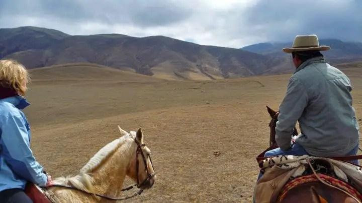 roadtrip argentine randonnée à cheval