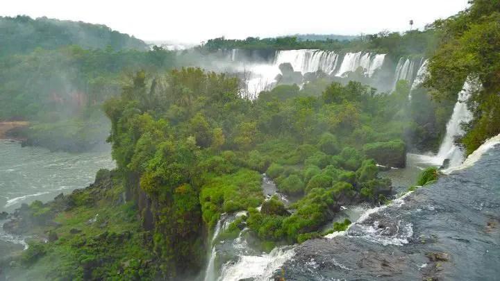 roadtrip argentine vue des chutes d'igazu