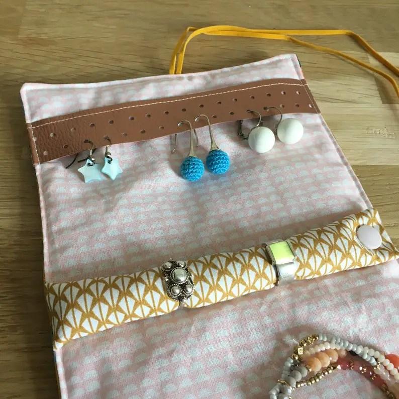 idées de cadeaux pour les Mamans voyageuses pochette bijou