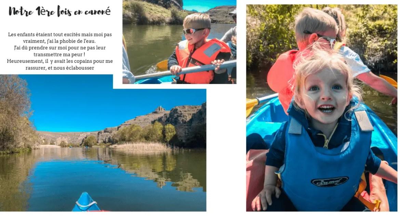 Que visiter autour e Ségovie : faire du canoë