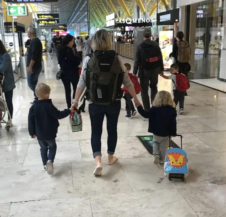partir seule en voyage avec ses 2 enfants