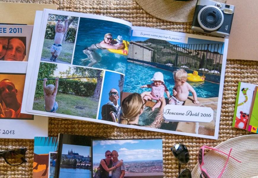 créer des albums photos de voyage pour les enfants