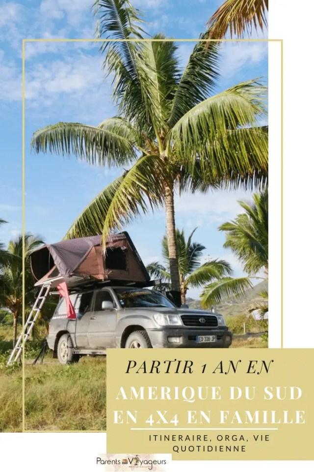 Podcast #20 : Partir 1 an en Amérique du Sud en 4X4- Interview de Sandrine de Voyages et enfants.