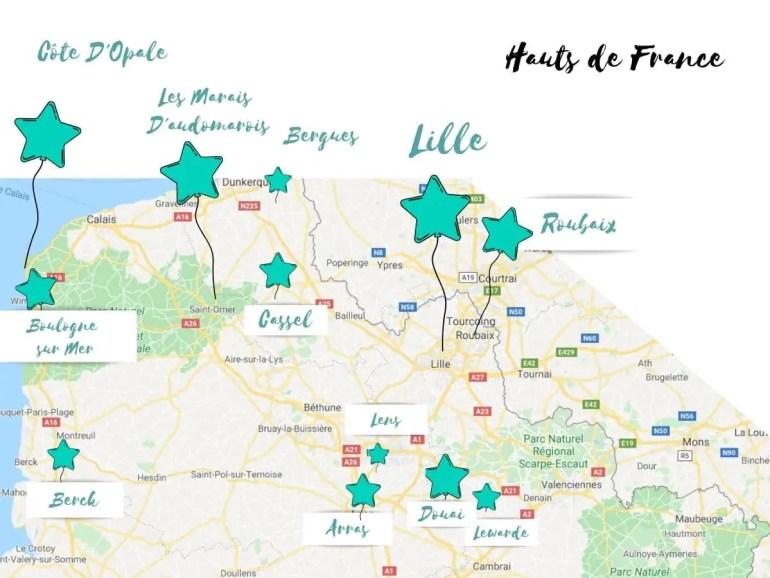 Visiter les hauts de France