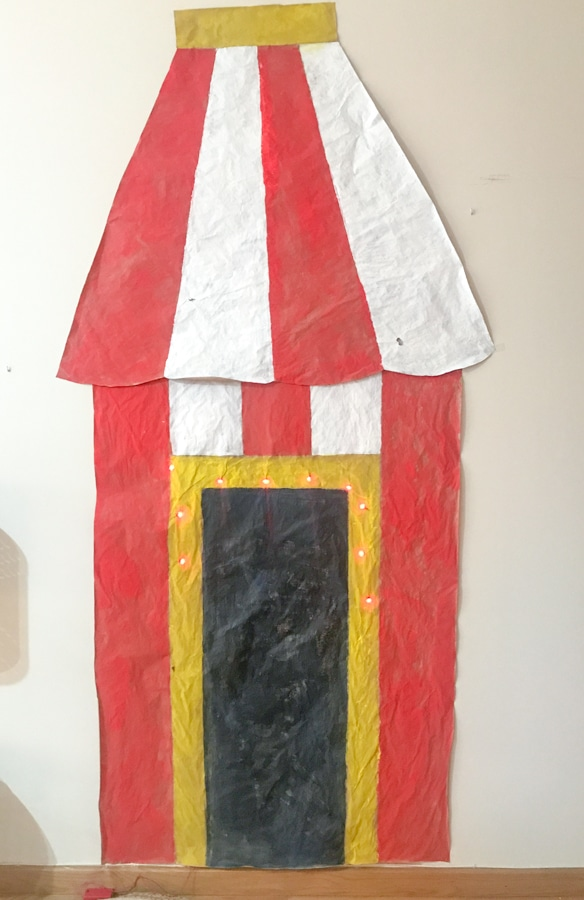 spectacle décors cirque enfant