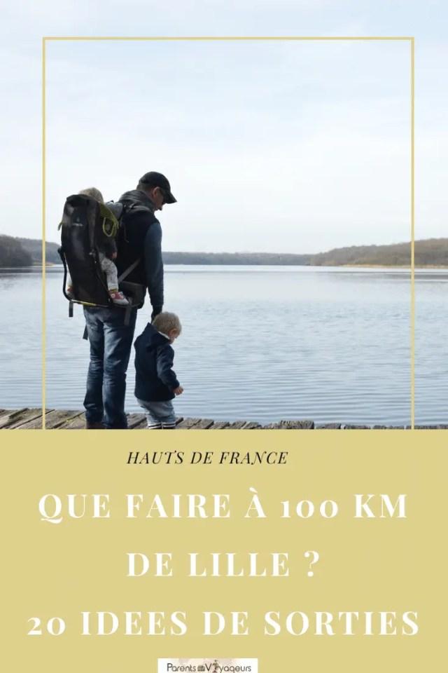 Que faire à 100 km autour de Lille avec les enfants? 10 idées de sorties en famille