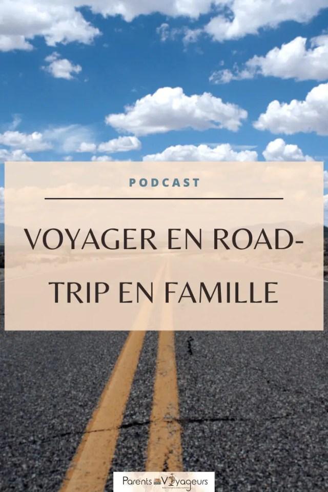 Voyager en  road-trip avec ses enfants