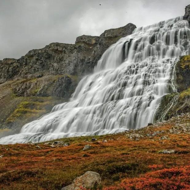Islande avec enfants - Dynjandi