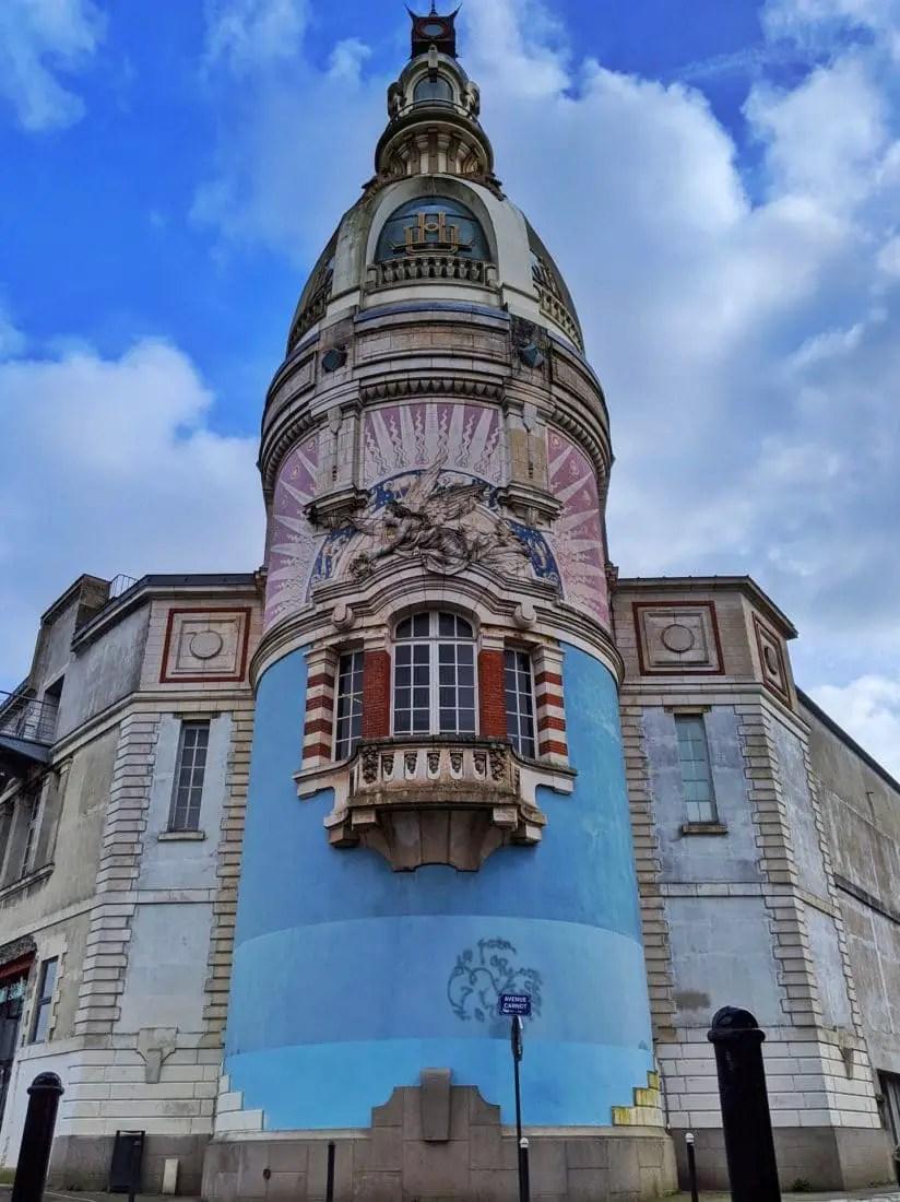 Nantes en famille - Tour LU