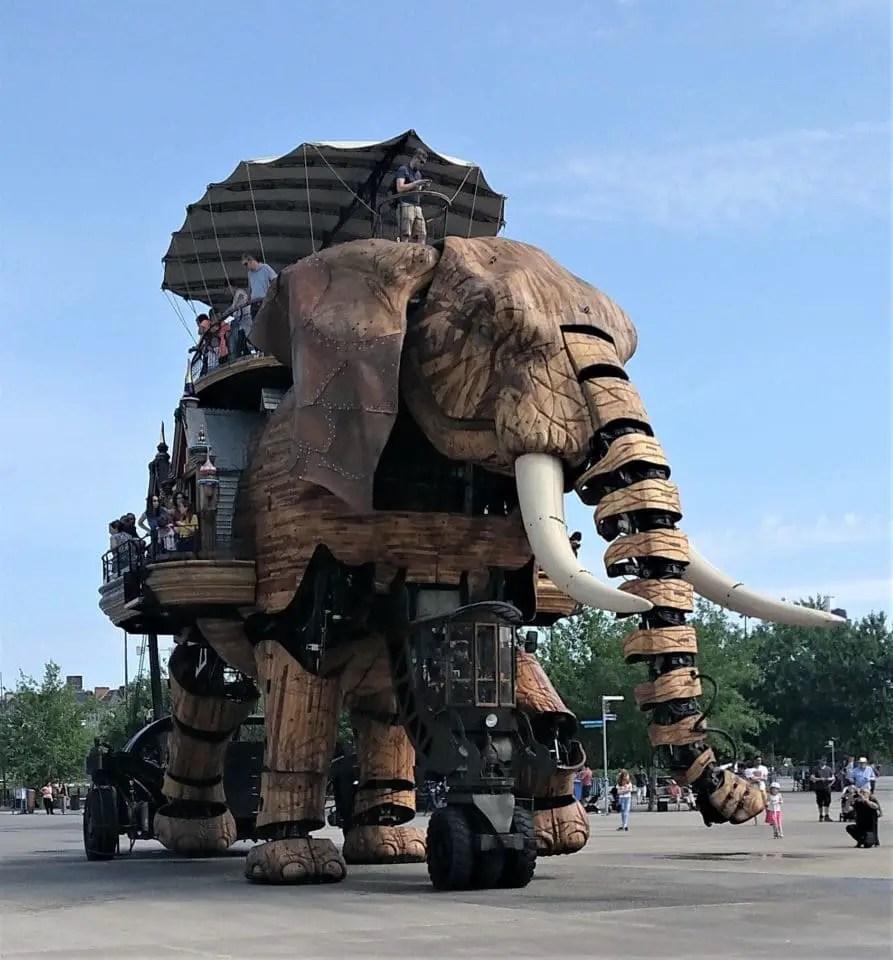 Nantes en famille - Eléphant