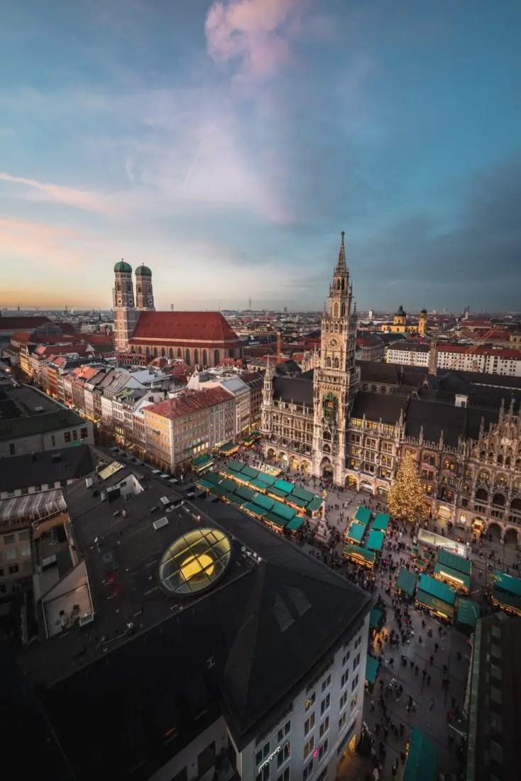 Europe de l'Est par la route - Munich 1