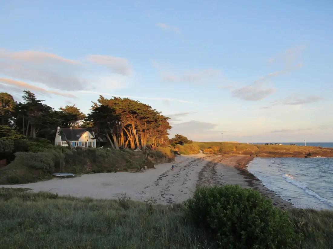 Presqu'île de Rhuys en famille - Coucher de soleil