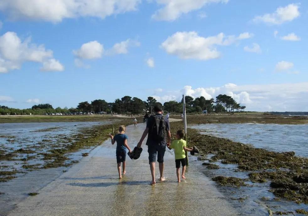 Presqu'île de Rhuys en famille - Île Tascon