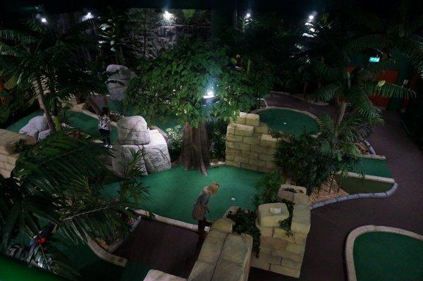 The Lost City Adventure Golf, Nottingham