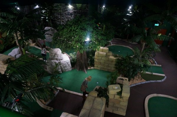 The Lost City Adventure Golf, Nottingham