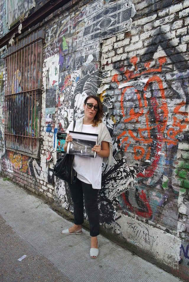 Shoreditch street art and our Eating London tour guide