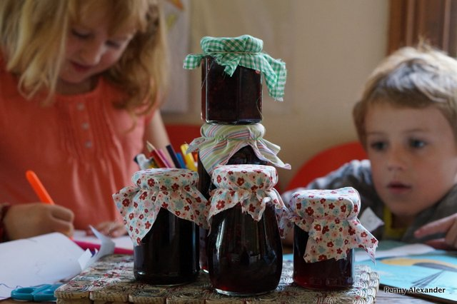 labelling our jam