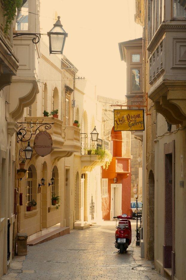 Wandering around Victoria, Gozo island, Malta