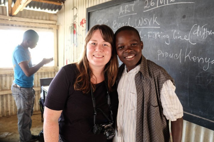 Visiting HOVIC in Kenya, a comic relief funded project