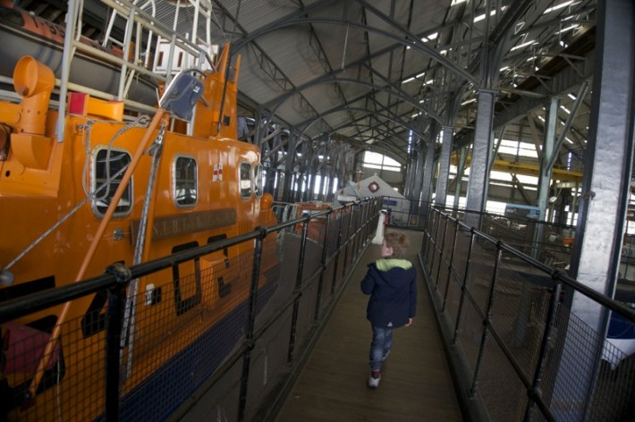 Chatham Dockyard Lifeboats in the Slip