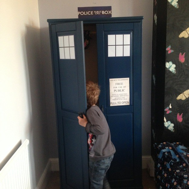 playing-in-the-tardis-wardrobe
