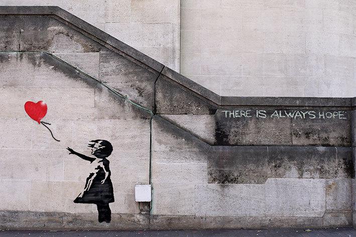 always hope banksy