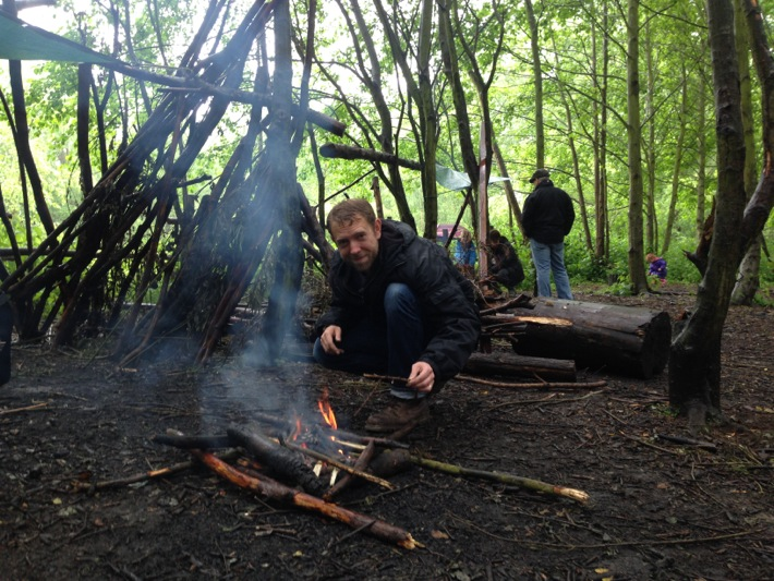 Conkers Centre, National Forest, Bushcraft and Barefoot Trail - 05