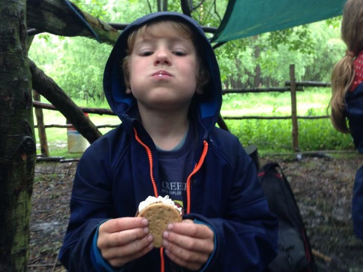 Conkers Centre, National Forest, Bushcraft and Barefoot Trail - 07