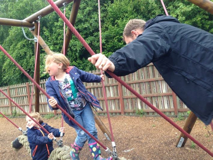 Conkers Centre, National Forest, Bushcraft and Barefoot Trail - 20