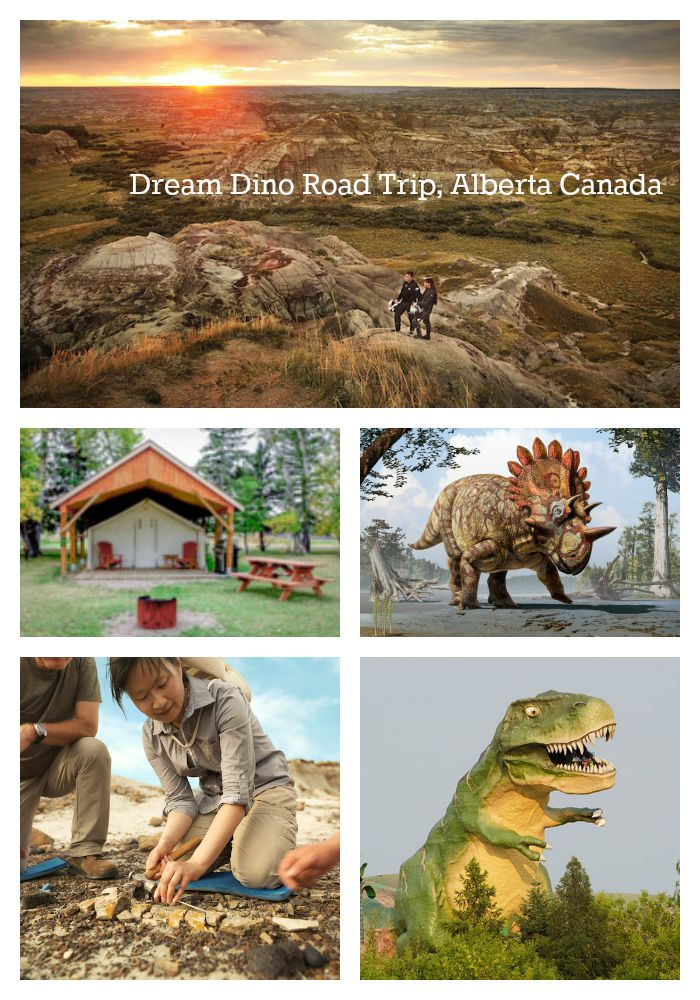 Dream Dinosaur Road Trip, Alberta Canada