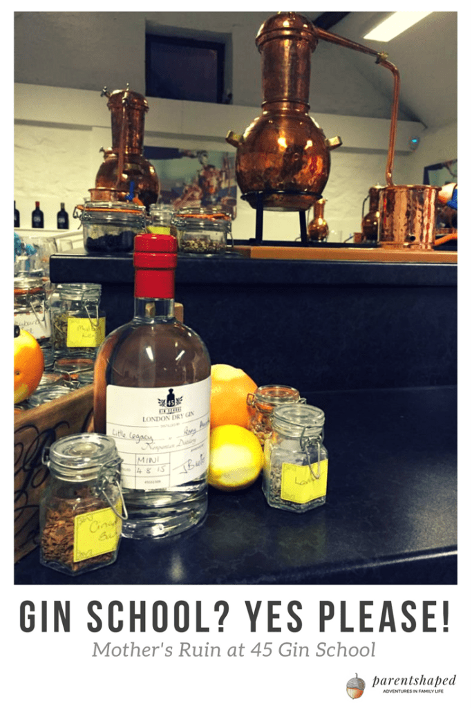 Fancy distilling your very own bottle of gin? I had an amazing time at 45 Gin School , like going back to Science lessons, but with cocktails and great gin stories!