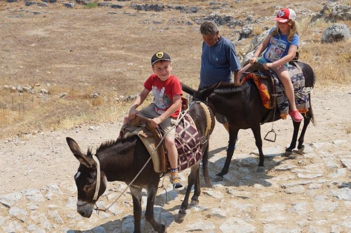 donkey ride Lindos