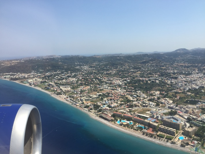 landing in rhodes, Mark warner levante beach resort