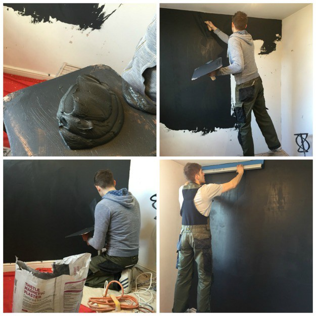 Magnetic-Plaster-Wall-Application