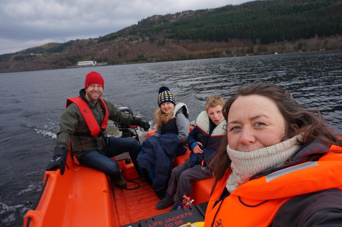 Loch Ness Shores Camping and Caravan Club