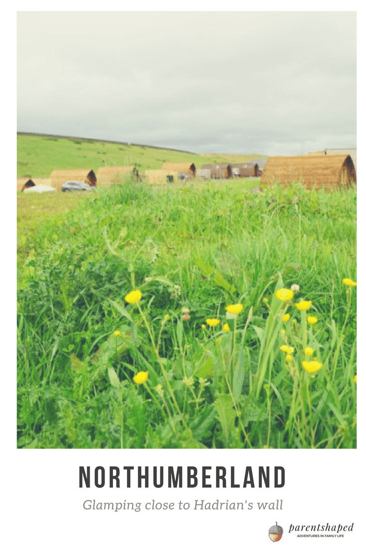 Glamping by Hadrian's Wall, Northumberland is stunning, breathtaking and the history makes your jaw drop.