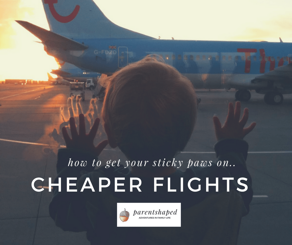 How to book cheap flights for a family