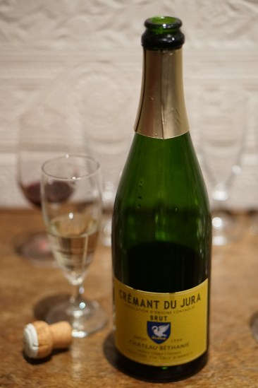 Unusual fizz Cremant du Jura