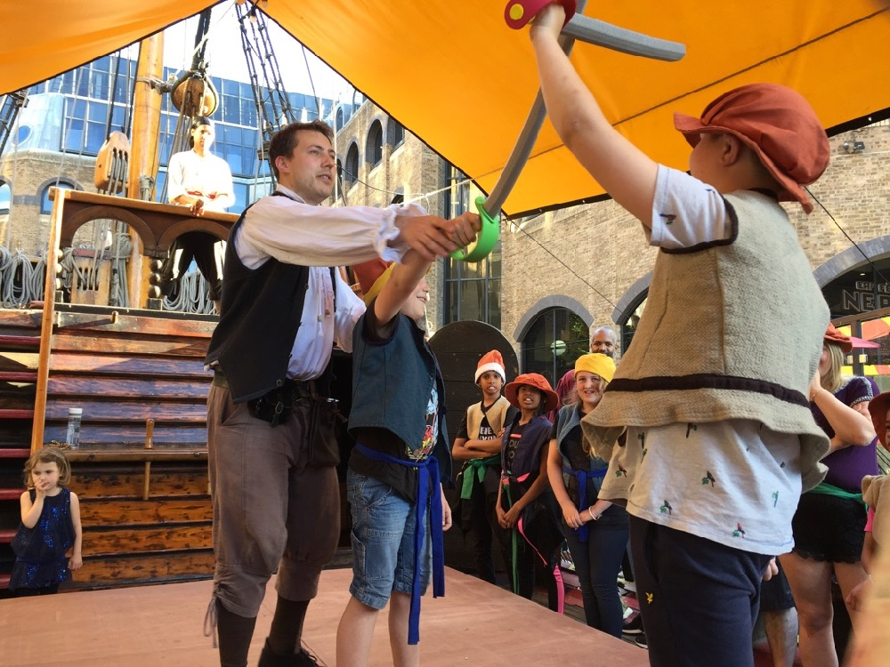 Sleepover onboard The Golden Hinde, Francis Drake's galleon in London - 16