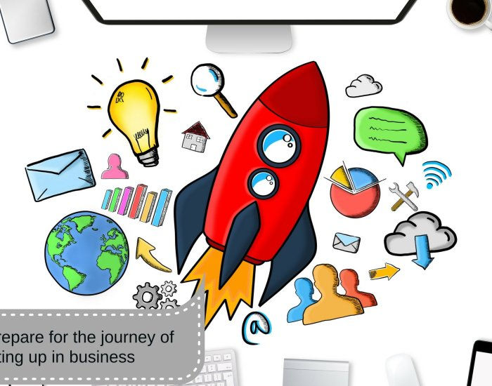 How to prepare for the journey of starting up in business