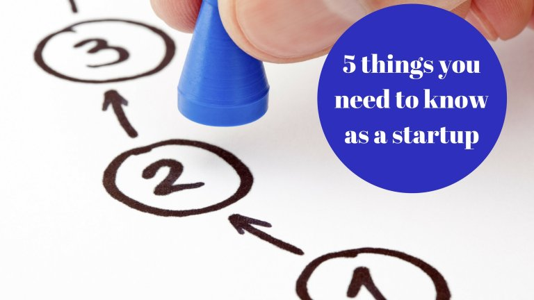 #PIB33 5 things you need to know as a startup