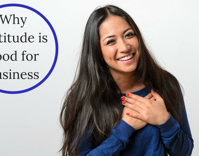Why gratitude is good for business