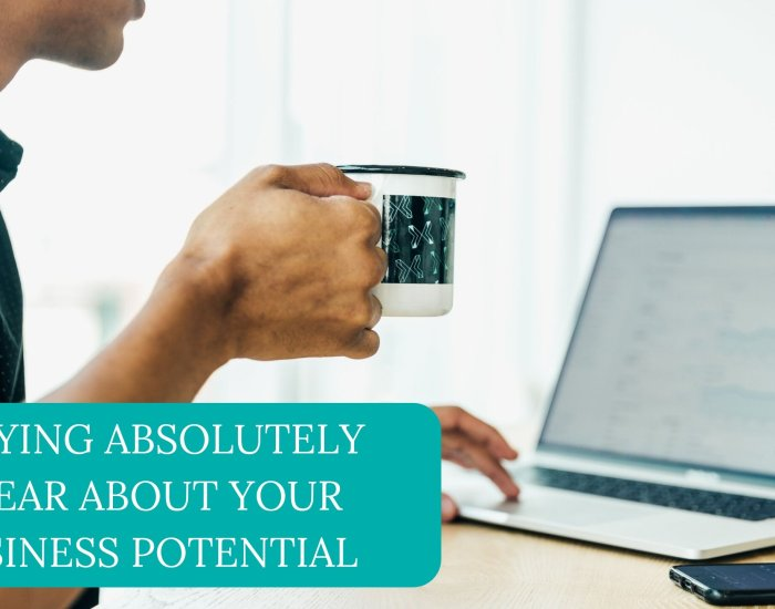 Staying Absolutely Clear About Your Business Potential