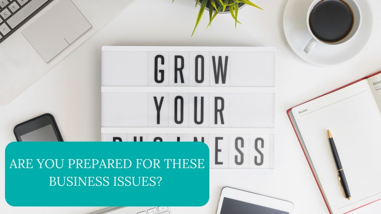 Are You Prepared For These Business Issues?