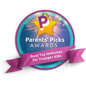 Award Winning Toy Websites for Younger Children - Best toy websites for younger children