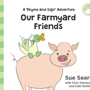 Our Farmyard Friends baby sign book cover