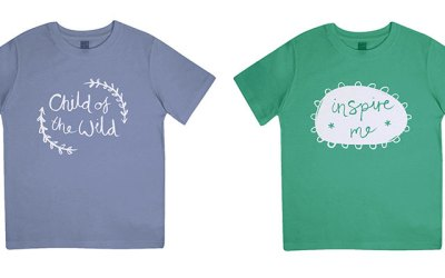 An organically grown t-shirt range