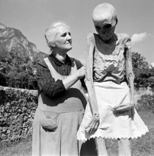 L'aria di montagna non giovò poi tanto alla salute di sua nipote.
