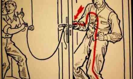 Folgorati: Da una porta